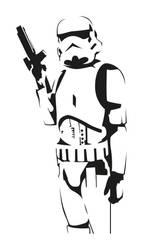 Badass Stormtrooper Vector by NotMyGod