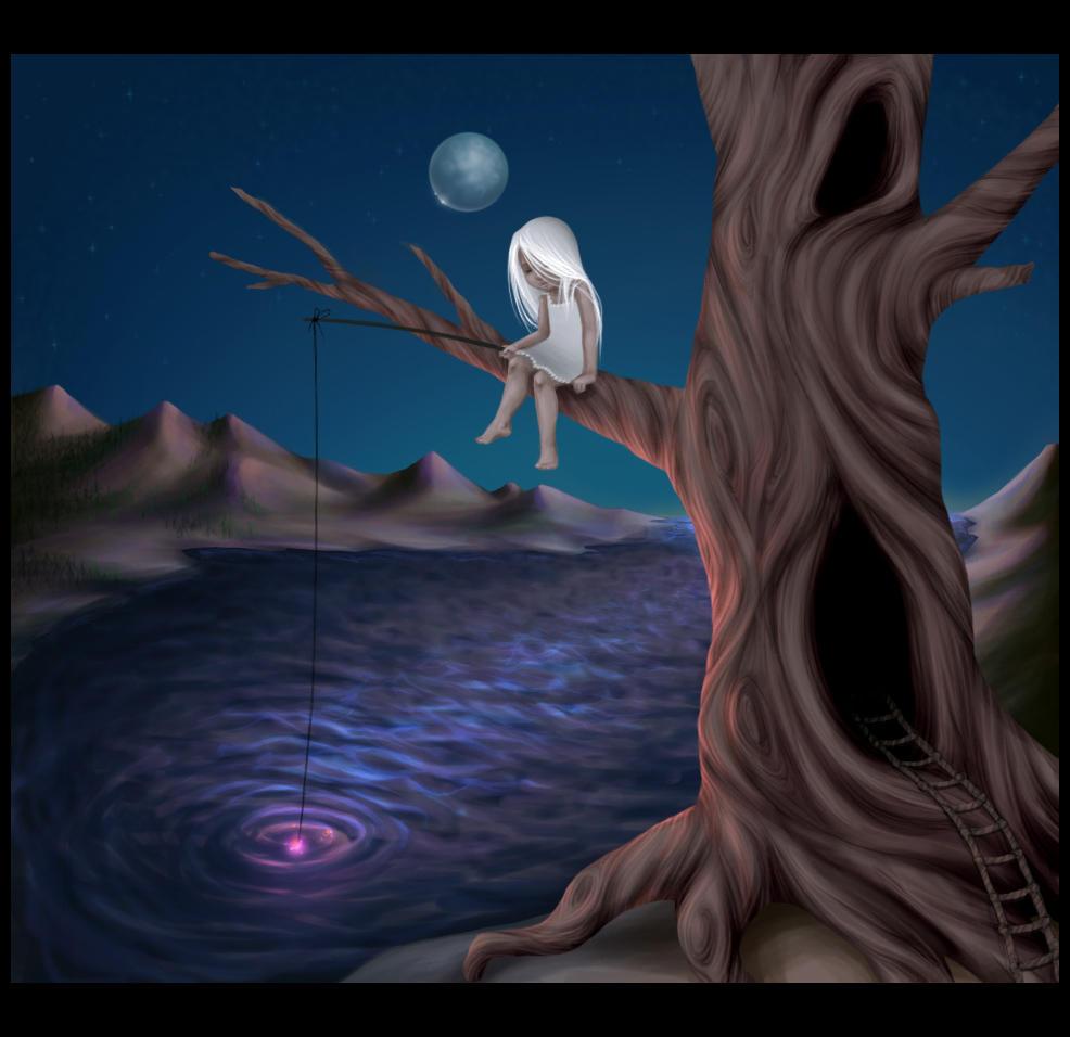 Moon Lake by leelakin