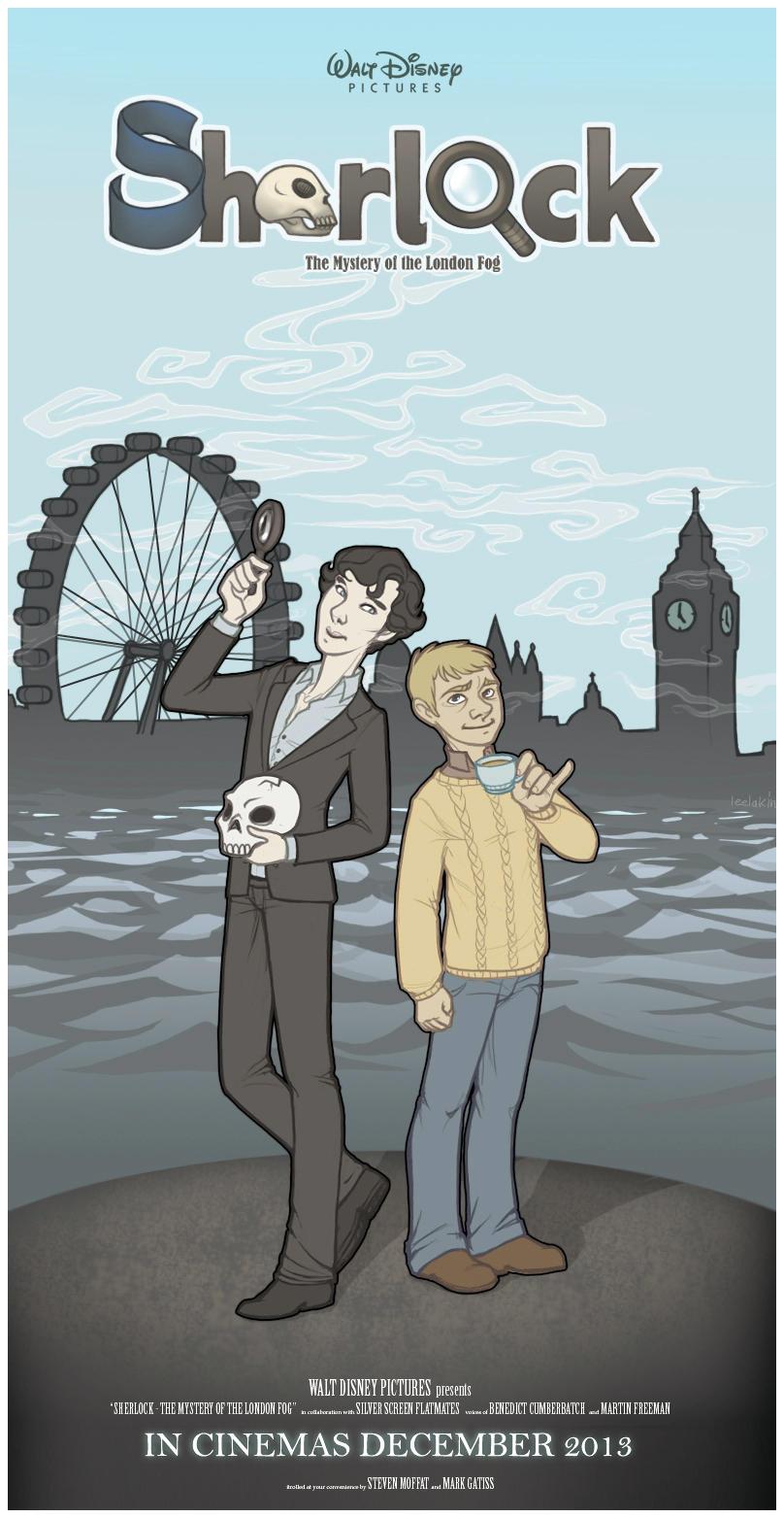 Disney Sherlock by leelakin