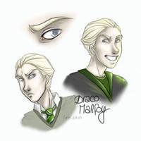 Draco Malfoy by leelakin