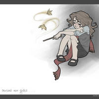 Poor Hermione by leelakin