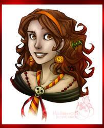 HP: Halloween Hermione by leelakin