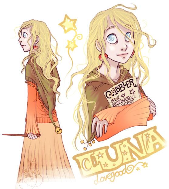 Luna Lovegood by leelakin