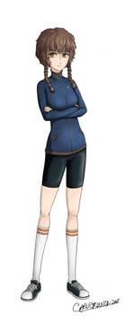 Amane Suzuha - Steins Gate by Captain-of-Crunch