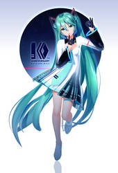 YYB Hatsune Miku_10th DL by SANMUYYB