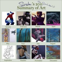 2011 Art Summary by SachiAmi