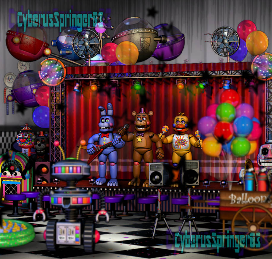 Spoilers Freddy Fazbear S Pizza Fnaf 6 Edit By