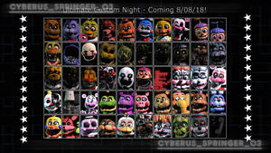 Custom Night Roster Recreation! (SFM/Edit) by CyberusSpringer03