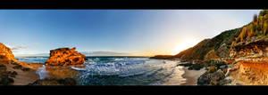 Sorrento Coastal Sunset by WiDoWm4k3r