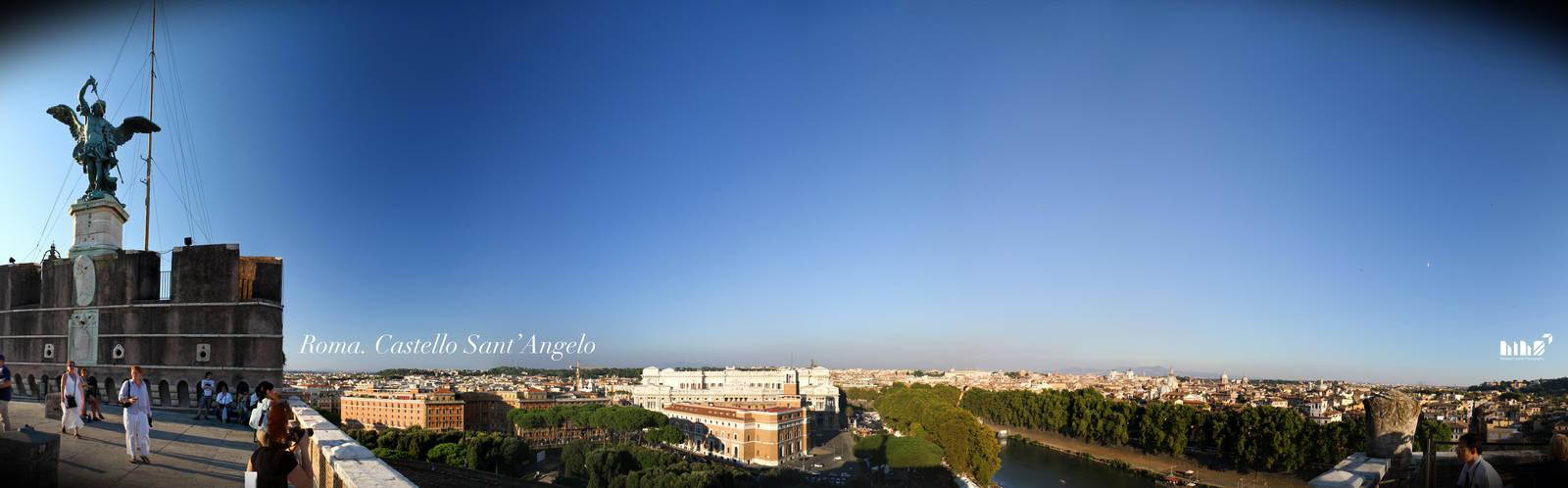 Roma - Castello Sant'Angelo by N1cn4c
