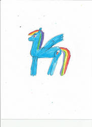 Another Rainbow dash drawing-1 by justin-Digital01