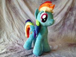 Rainbow Dash - New Pattern by Yunalicia