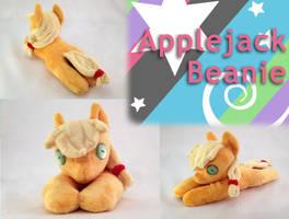 Applejack Beanie by Yunalicia