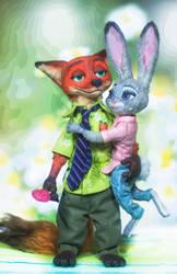 Nick\Judy by Semitsvetik