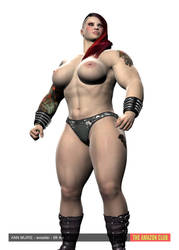 Ann Muire - Wrestler - 6ft 4in by theamazonclub