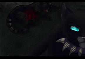 BLOOODY !!! Tigerstars death 2013 - Speedpaint by Espenfluss