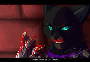 Scourge - I will rule everything - SPEEDPAINT by Espenfluss