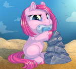 Baby Pinkie Pie by KittehKatBar