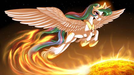 Solar Flare by KittehKatBar
