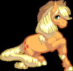 Applejack by KittehKatBar