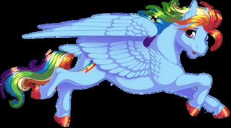 Rainbow Dash by KittehKatBar