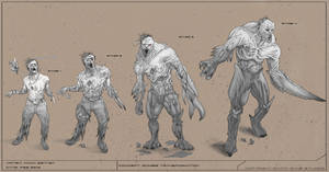 Zombie Infection by MackSztaba
