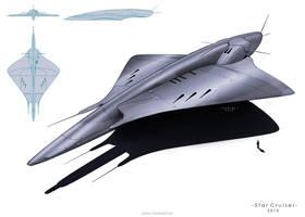 Space- Cruiser by MackSztaba