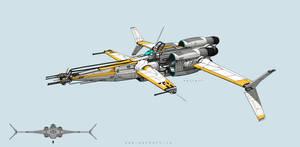 Star-Fighter by MackSztaba