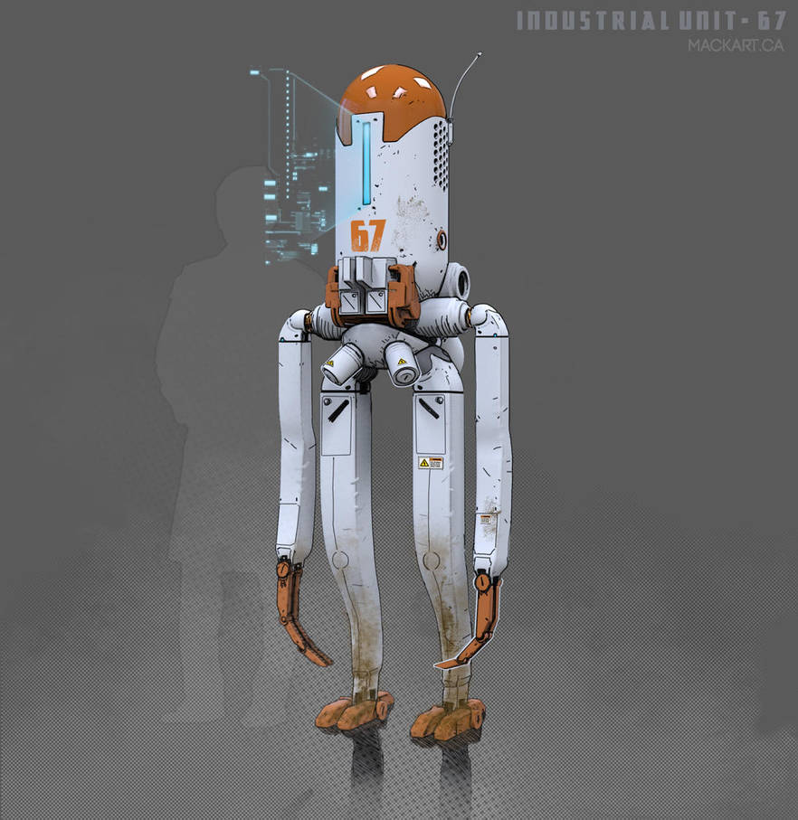 INDUSTRIAL-Bot by MackSztaba