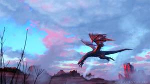 Dragon-Sketch by MackSztaba