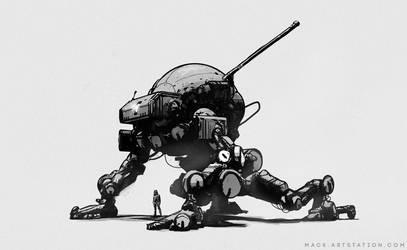 Robot 392018 by MackSztaba