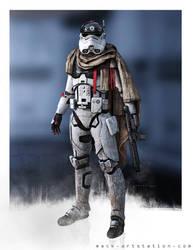 Squad-Leader w/ Cape by MackSztaba