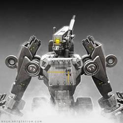 Heavy Industries Construction Bot by MackSztaba
