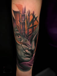 Salvador dali tattoo by Nick Limpens by nsanenl