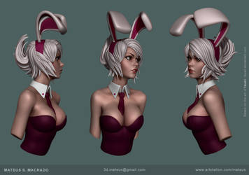 Bunny girl by Mateussm