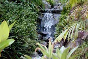 Botanical waterfall: by Superly