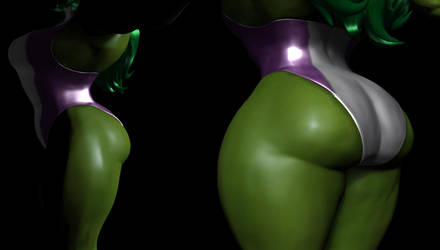 Side-Project 616: She-Hulk by Ripped-Pixels