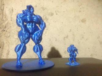 Mini-Muscle Test Print by Ripped-Pixels