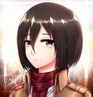 [ Mikasa Ackerman ] by Levichuu