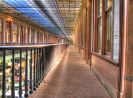 Arcade in Watetown HDR by Lectrichead