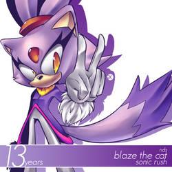 13 years of Blaze by SpeendlexMK2