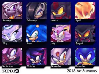 2018 Art Summary by SpeendlexMK2