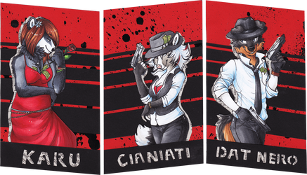 Honor - Solidarity - Vengeance by Cianiati