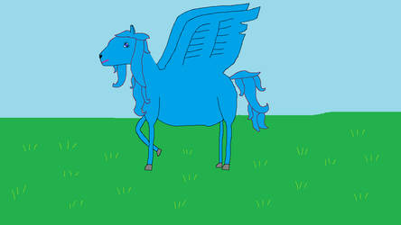 Pegasus3 by Mike-the-dabbler