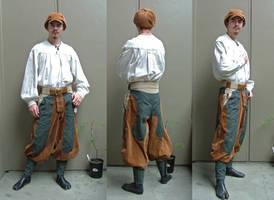 Tobi Pants Prototype by Marcusstratus