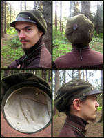 Leather Brimmed Hat by Marcusstratus