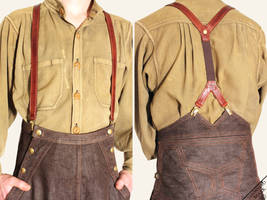 High Waisted Suspenders by Marcusstratus