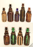 Nov 2014 Bottle Slings by Marcusstratus