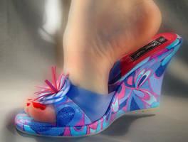 Wedge Heels by Glitterheels