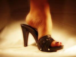 Mule heels by Glitterheels